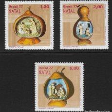 Sellos: BRASIL. YVERT NSº 1286/88 NUEVOS Y UN SELLO DEFECTUOSO. Lote 196230780