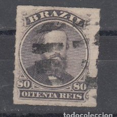 Sellos: BRASIL 33 USADA, PEDRO II. Lote 197128538