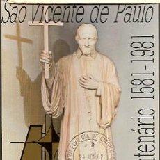Sellos: BRASIL & MAXI, IV CENTENARIO DE SÃO VICENTE DE PAULO, RÍO DE JANEIRO 1982 (6884). Lote 198664461