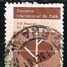 Sellos: BRASIL Nº 1020, CONVENCIÓN INTERNACIONAL SOBRE EL CAFÉ, USADO. Lote 199750362