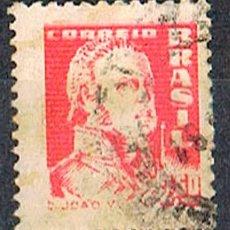 Sellos: BRASIL Nº 971, EL REY JUAN VI DE PORTUGAL USADO. Lote 199752100