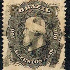 Sellos: BRASIL Nº 40 (AÑO 1.866), EL EMPERADOR PEDRO II, USADO. Lote 199756076