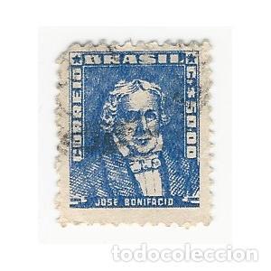 SELLO BRASIL JOSÉ BONIFACIO 50 (Sellos - Extranjero - América - Brasil)