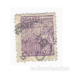 SELLO BRASIL 0,60 (Sellos - Extranjero - América - Brasil)