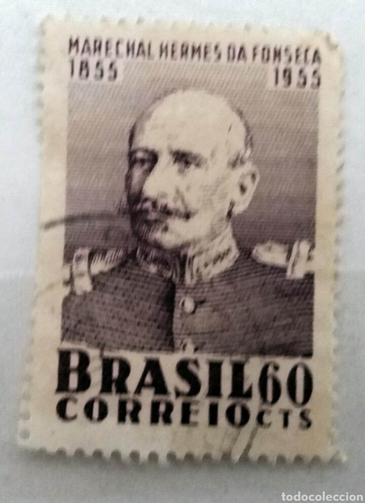 SELLO DO BRASIL (Sellos - Extranjero - América - Brasil)