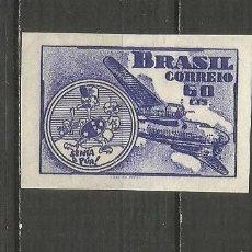 Sellos: BRASIL YVERT NUM. 478 ** SERIE COMPLETA SIN FIJASELLOS. Lote 206485301