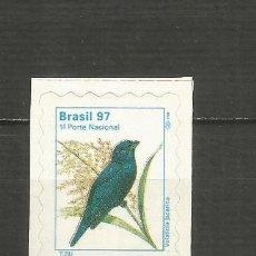 Sellos: BRASIL YVERT NUM. 2339 * SERIE COMPLETA CON FIJASELLOS. Lote 206487032
