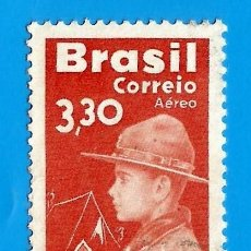 Sellos: BRASIL. 1960. MOVIMIENTO SCOUT. Lote 210956295