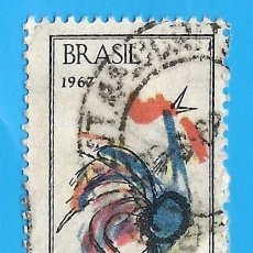 Sellos: BRASIL. 1967. FESTIVAL DE CANCION POPULAR. Lote 211584391