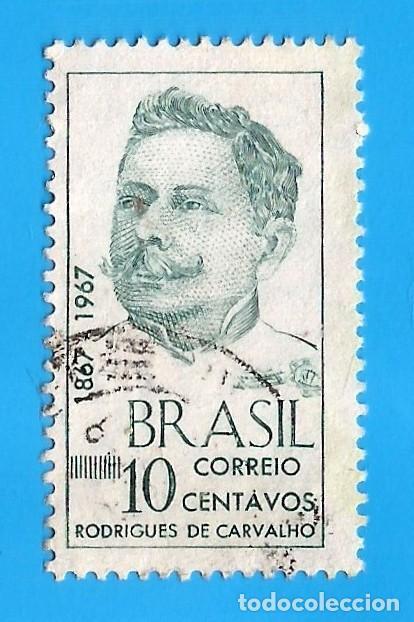 BRASIL. 1967. RODRIGUES DE CARVALHO (Sellos - Extranjero - América - Brasil)