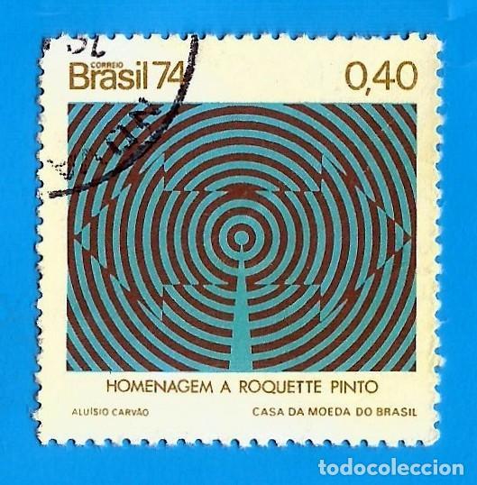 BRASIL. 1974. FUNDACION DE RADIOSOCIEDAD DE RIO DE JANEIRO (Sellos - Extranjero - América - Brasil)
