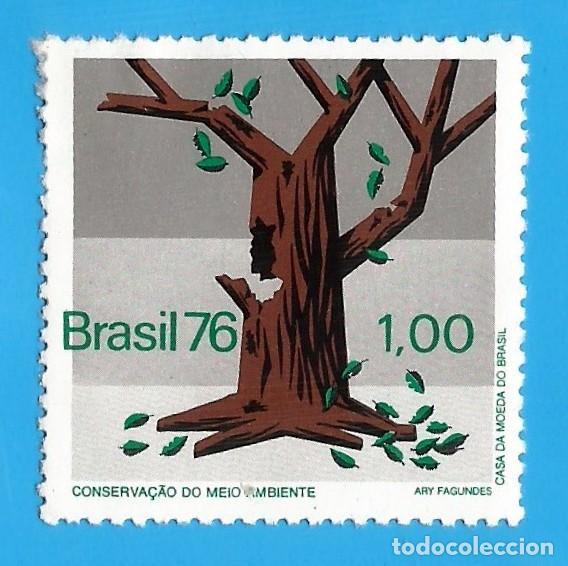 BRASIL. 1976. CONSERVACION DEL MEDIO AMBIENTE (Sellos - Extranjero - América - Brasil)