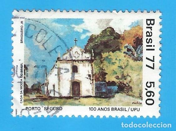 BRASIL. 1977. VISTA DE PORTO SEGURO (Sellos - Extranjero - América - Brasil)