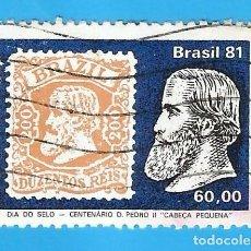 Selos: BRASIL. 1981. DIA DEL SELLO. Lote 211588274
