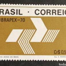 Sellos: BRASIL, LUBRAPEX 1970 MNH (FOTOGRAFÍA REAL). Lote 211591022