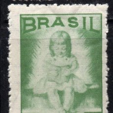 Sellos: BRAZIL/1948/MNH/SC#682/ CAMPAÑA NACIONAL DE LA EDUCACIÓN. Lote 217593367