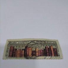 Sellos: 2001 USADO 190 AÑOS DA BIBLIOTECA NACIONAL.. Lote 222063146