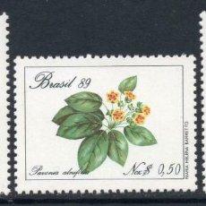Sellos: BRASIL 1989 IVERT 1915/7 *** FLORA - FLORES BRASILEÑAS. Lote 225152588