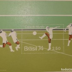Sellos: 1974 BRASIL. COPA MUNDIAL DE FUTBOL 1974 MNH**. Lote 233723625