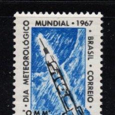 Sellos: BRASIL 814** - AÑO 1967 - DIA METEOROLOGICO MUNDIAL. Lote 253474070