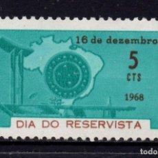 Sellos: BRASIL 881** - AÑO 1968 - DIA DEL RESERVISTA. Lote 253476820