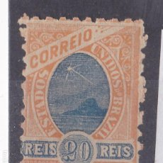 Sellos: FC2-66- BRASIL YT 80 DENTADO 8 1/2 * CON FIJASELLOS. Lote 259964025