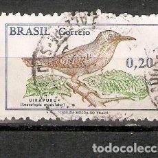 Sellos: BRASIL.1968. PÁJAROS. AVES.. Lote 260044960