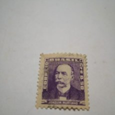 Sellos: SELLO BRASIL 1954 JOAQUIN MURTINHO, SELLOS CORREOS ESTAMPA. Lote 260767425