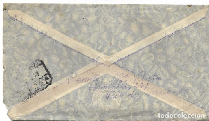 Sellos: LOTE 14 CARTAS CIRCULADAS DE BRASIL A VALENCIA (ESPAÑA) CORREO AÉREO (FOTOGRAFÍAS INDIVIDUALES) - Foto 13 - 261928855