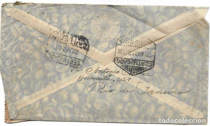 Sellos: LOTE 14 CARTAS CIRCULADAS DE BRASIL A VALENCIA (ESPAÑA) CORREO AÉREO (FOTOGRAFÍAS INDIVIDUALES) - Foto 27 - 261928855