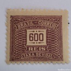 Sellos: SELLO DE BRASIL 1919. 600 REÍS. NUEVO. Lote 262297295