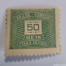 Sellos: SELLO DE BRASIL 1919. 50 REÍS.NUEVO. Lote 262317925