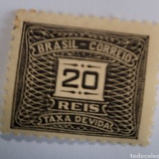 Sellos: SELLO DE BRASIL 1919. 20 REÍS. NUEVO. Lote 262318140