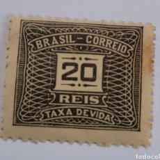 Sellos: SELLO DE BRASIL 1919. 20 REÍS. NUEVO. Lote 262318235
