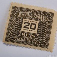 Sellos: SELLO DE BRASIL 1919. 20 REÍS. NUEVO. Lote 262318325