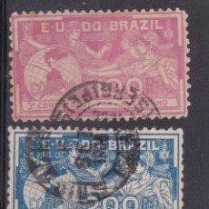 Sellos: FC2-205- CLÁSICOS / ANTIGUOS BRASIL . YT 126/ 27. Lote 262674110