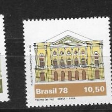 Sellos: BRASIL Nº 1350 AL 1352 (**). Lote 267226029