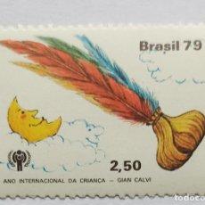 Sellos: BRASIL 1979,ANO INTERNACIONAL DA CRIANÇA. Lote 270965283