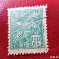 Sellos: *BRASIL, 1928-41, AVIACIÓN, YVERT 201. Lote 271376328