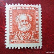 Sellos: *BRASIL, 1954, ALMIRANTE TAMANDARES, YVERT 576. Lote 271377633