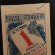 Sellos: O) BRASIL 1940, IMPERFORADO, CALENDARIO Y DIA DE INSCRIPCION DEL QUINTO CENSO GENERAL DE BRASIL, XF. Lote 276758373
