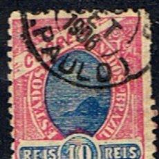 Sellos: BRASIL // YVERT 79 // 1894-04 ... USADO. Lote 277059543