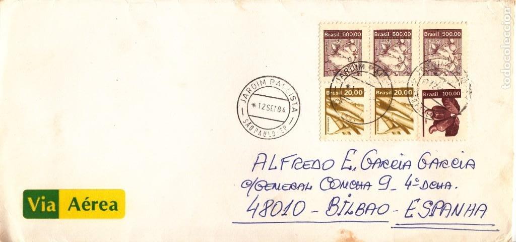 CORREO AEREO: BRASIL 1984 (Sellos - Extranjero - América - Brasil)