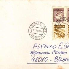 Sellos: CORREO AEREO: BRASIL 1984. Lote 277064358
