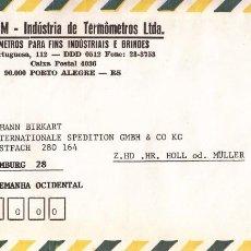 Sellos: CORREO AEREO: BRASIL 1980. Lote 277116053