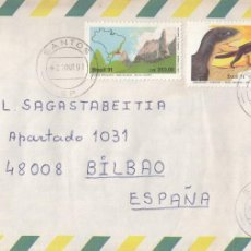 Sellos: CORREO AEREO: BRASIL 1991. Lote 277127728