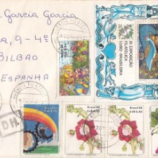 Sellos: CORREO AEREO: BRASIL 1987. Lote 277152388