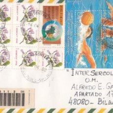 Sellos: CORREO AEREO: BRASIL 1993. Lote 277211213