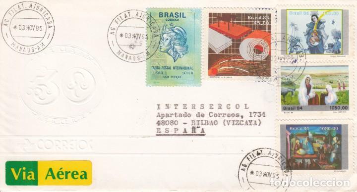 CORREO AEREO: BRASIL 1995 (Sellos - Extranjero - América - Brasil)