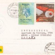 Sellos: CORREO AEREO: BRASIL 1995. Lote 277421338